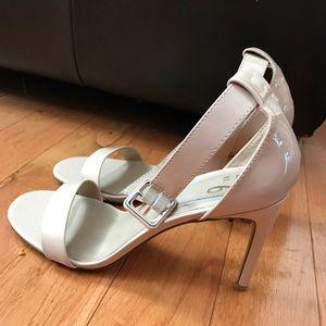Beige mix no.6 heels